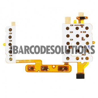 OEM Motorola Symbol WT41N0 Keyboard Replacement Part with Flex Cable (Used, Tested )