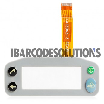 For Zebra QL220 Plus Keypad Frame with Lens and Flex Cable Ribbon Replacement