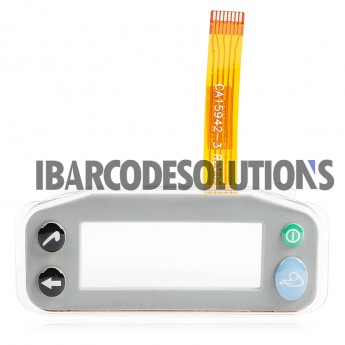 For Zebra QL420 Plus Keypad Frame with Lens and Flex Cable Ribbon Replacement