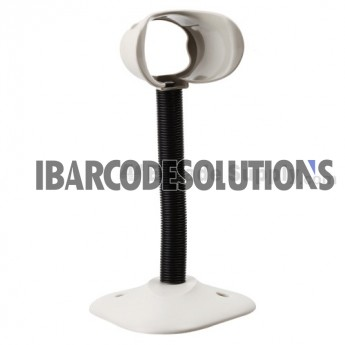 Symbol DS6707, DS6708 Gooseneck Stand - White