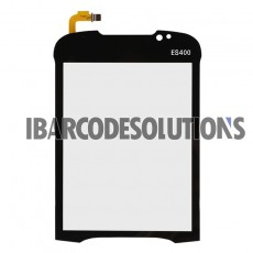 For Motorola ES400 Digitizer Touch Screen with Adhesive Replacement - Version B-Grade R