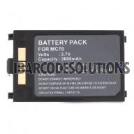 Symbol MC70, MC75, FR6000, FR68 Battery (3600mAh, 2.4cm thick) - 4 Contacts