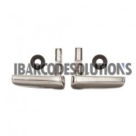 For Symbol MC3000, MC3070, MC3090, MC3190 Battery Door Latch & O-Ring Set (Left and Right)