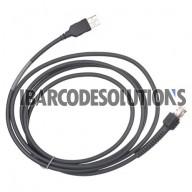 Symbol  LS2208, LS3408, LS3478, LS3578,  LS4004, LS4208, DS6707, DS6708, DS3407, DS3408, DS3478, LS9203, M200X, LS9208, LS7708 USB Cable